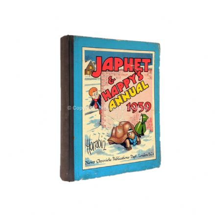Japhet and Happy's Annual 1939 Published by News Chronicle